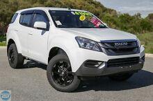 2016 Isuzu MU-X MY15 LS-M Rev-Tronic 4x2 Splash White 5 Speed Sports Automatic Wagon Hillman Rockingham Area Preview
