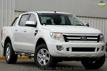 2015 Ford Ranger PX XLT Double Cab Cool White 6 Speed Sports Automatic Utility Greenacre Bankstown Area Preview