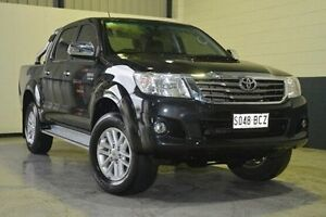 2014 Toyota Hilux KUN26R MY14 SR5 Double Cab Black 5 Speed Automatic Utility Blair Athol Port Adelaide Area Preview