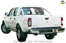 2012 Nissan Navara D22 S5 ST-R White 5 Speed Manual Utility Wangara Wanneroo Area Preview
