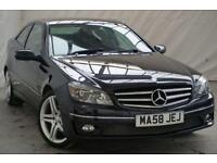 2008 Mercedes-Benz CLC Class 1.8 CLC180 KOMPRESSOR SPORT 3d 143 BHP Petrol black