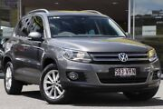 2014 Volkswagen Tiguan 5N MY15 130TDI DSG 4MOTION Grey 7 Speed Sports Automatic Dual Clutch Wagon Woolloongabba Brisbane South West Preview