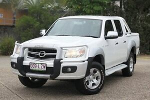 2009 Mazda BT-50 UNY0E4 SDX White 5 Speed Manual Utility Underwood Logan Area Preview