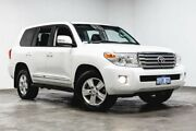 2013 Toyota Landcruiser VDJ200R MY12 Sahara Crystal Pearl 6 Speed Sports Automatic Wagon Welshpool Canning Area Preview