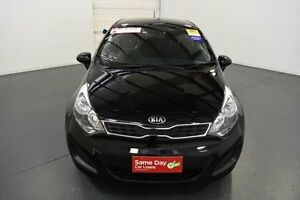 2014 Kia Rio UB MY14 S Black 4 Speed Automatic Hatchback Moorabbin Kingston Area Preview