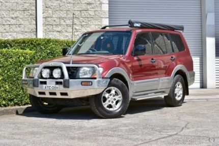 2000 Mitsubishi Pajero NM GLS Maroon 5 Speed Sports Automatic Wagon