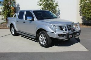 2011 Nissan Navara D40 S5 MY12 ST-X Silver 7 Speed Sports Automatic Utility Robina Gold Coast South Preview