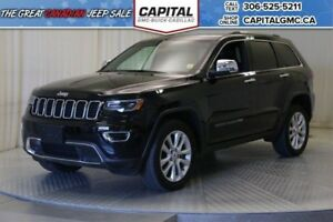 2017 Jeep Grand Cherokee Limited 4WD*Sunroof*Nav*Leather*