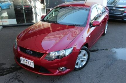 2010 Ford Falcon FG XR6 Red 4 Speed Sports Automatic Sedan Hoppers Crossing Wyndham Area Preview