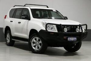 2010 Toyota Landcruiser Prado KDJ150R GX (4x4) White 5 Speed Sequential Auto Wagon