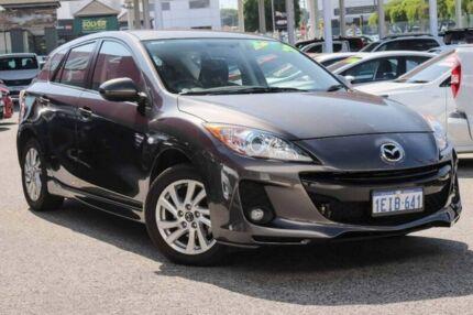 2013 Mazda 3 BL1072 MY13 SP20 SKYACTIV-Drive SKYACTIV Grey 6 Speed Sports Automatic Hatchback