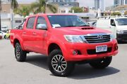 2014 Toyota Hilux KUN26R MY14 SR5 (4x4) Velocity Red 5 Speed Automatic Dual Cab Pick-up Northbridge Perth City Area Preview