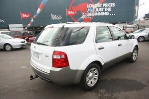 2007 Ford Territory SY TS AWD White 6 Speed Sports Automatic Wagon Kingsville Maribyrnong Area Preview