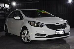 2014 Kia Cerato YD MY14 S White 6 Speed Sports Automatic Sedan Wangara Wanneroo Area Preview