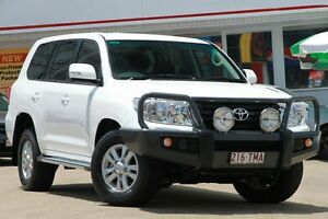 2013 Toyota Landcruiser URJ202R MY13 GXL White 6 Speed Sports Automatic Wagon Woolloongabba Brisbane South West Preview