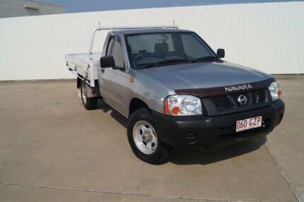 2003 Nissan Navara D22 MY2002 DX Silver 5 Speed Manual Cab Chassis Bundaberg Central Bundaberg City Preview