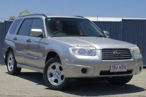 2007 Subaru Forester 79V MY07 X AWD Silver 4 Speed Automatic Wagon