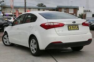 2014 Kia Cerato YD MY14 S White 6 Speed Sports Automatic Sedan Waitara Hornsby Area Preview