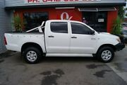 2005 Toyota Hilux KUN26R SR (4x4) White 5 Speed Manual Dual Cab Pickup Blair Athol Port Adelaide Area Preview