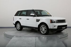 2010 Land Rover Range Rover Sport L320 11MY TDV6 White 6 Speed Sports Automatic Wagon Old Guildford Fairfield Area Preview