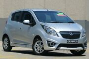 2013 Holden Barina Spark MJ MY13 CD Silver 4 Speed Automatic Hatchback Wolli Creek Rockdale Area Preview