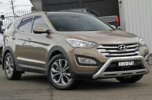 2013 Hyundai Santa Fe DM MY13 Highlander Gold 6 Speed Sports Automatic Wagon Kings Park Blacktown Area Preview