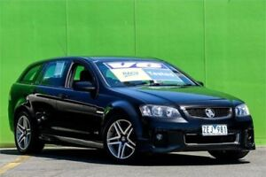 2012 Holden Commodore VE II MY12 SV6 Sportwagon Black 6 Speed Sports Automatic Wagon Ringwood East Maroondah Area Preview