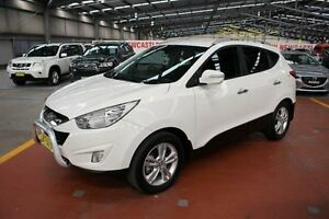 2013 Hyundai ix35 LM2 Elite AWD White 6 Speed Sports Automatic Wagon Maryville Newcastle Area Preview