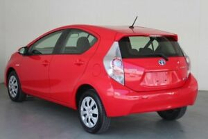 2013 Toyota Prius c NHP10R Hybrid Cherry Continuous Variable Hatchback