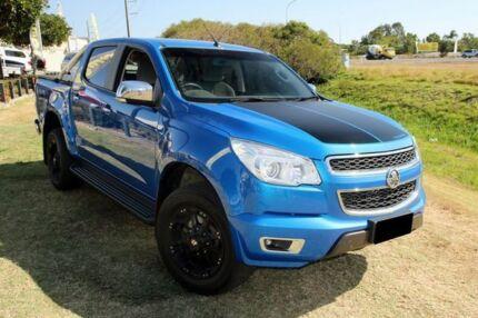 2015 Holden Colorado RG MY16 LTZ Crew Cab Blue 6 Speed Manual Utility