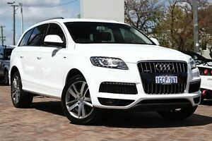 2011 Audi Q7 MY12 TDI Tiptronic Quattro White 8 Speed Sports Automatic Wagon Osborne Park Stirling Area Preview