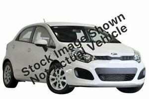 2013 Kia Rio UB MY14 S White 6 Speed Manual Hatchback Reynella Morphett Vale Area Preview
