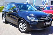 2012 Volkswagen Tiguan 5N MY12.5 118TSI 2WD Black 6 Speed Manual Wagon Pearce Woden Valley Preview