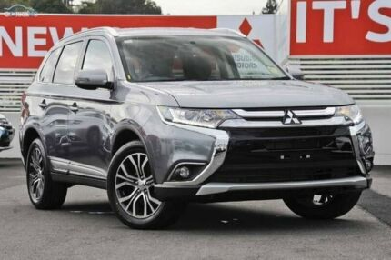 2015 Mitsubishi Outlander ZK MY16 LS 4WD Grey 6 Speed Constant Variable Wagon Invermay Launceston Area Preview