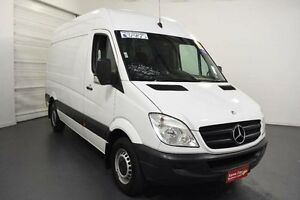 2010 Mercedes-Benz Sprinter NCV3 MY10 313CDI Low Roof MWB White Automatic Van Moorabbin Kingston Area Preview