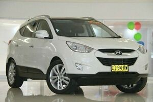 2011 Hyundai ix35 LM MY11 Highlander AWD White 6 Speed Sports Automatic Wagon Waitara Hornsby Area Preview