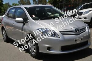 2010 Toyota Corolla ZRE152R MY11 Ascent Silver Pearl 4 Speed Automatic Hatchback Belmore Canterbury Area Preview