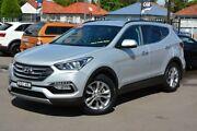 2015 Hyundai Santa Fe DM3 MY16 Elite Silver 6 Speed Sports Automatic Wagon Broadmeadow Newcastle Area Preview