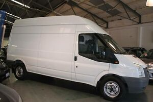 2008 Ford Transit VM MY08 High (LWB) White 6 Speed Manual Van Victoria Park Victoria Park Area Preview