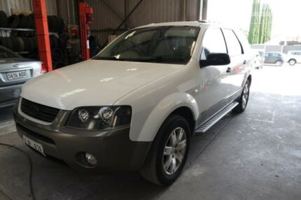2006 Ford Territory SY TX (RWD) White 4 Speed Auto Seq Sportshift Wagon Salisbury Plain Salisbury Area Preview