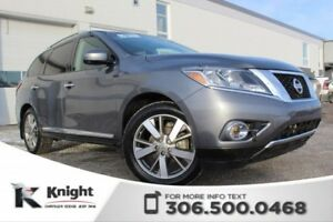 2016 Nissan Pathfinder Platinum - Navigation - Heated Leather Se