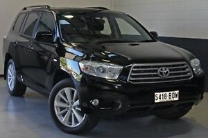 2010 Toyota Kluger GSU45R Altitude AWD Black 5 Speed Sports Automatic Wagon Hillcrest Port Adelaide Area Preview