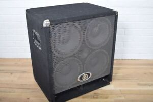 Ampeg 4x10 bass cabinet, model BSE410HLF, new condition