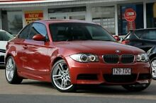 2009 BMW 135I E82 MY09 Sport Steptronic Red/Black 6 Speed Sports Automatic Coupe Woolloongabba Brisbane South West Preview