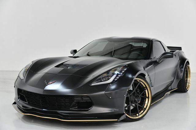 2015 Black Chevrolet Corvette Stingray Z51 | C7 Corvette Photo 3