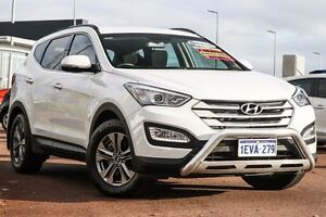 2015 Hyundai Santa Fe DM3 MY16 Active White 6 Speed Sports Automatic Wagon East Rockingham Rockingham Area Preview