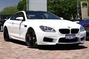 2012 BMW M6 F13M M-DCT White 7 Speed Sports Automatic Dual Clutch Coupe Osborne Park Stirling Area Preview