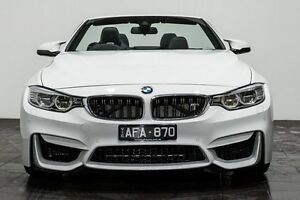2015 BMW M4 F83 M-DCT White 7 Speed Sports Automatic Dual Clutch Convertible