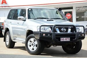 2014 Nissan Patrol Y61 GU 9 ST Silver 4 Speed Automatic Wagon Woolloongabba Brisbane South West Preview