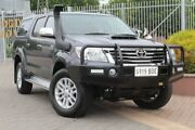 2014 Toyota Hilux KUN26R MY14 SR5 Double Cab Grey 5 Speed Automatic Utility Wayville Unley Area Preview